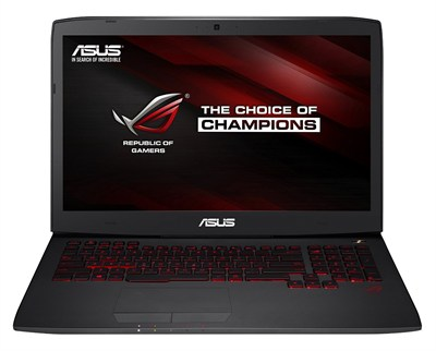 ROG G751JY-DH72X 17.3-inch GeForce GTX 980M, Core i7-4860 Gaming Lap. - OPEN BOX
