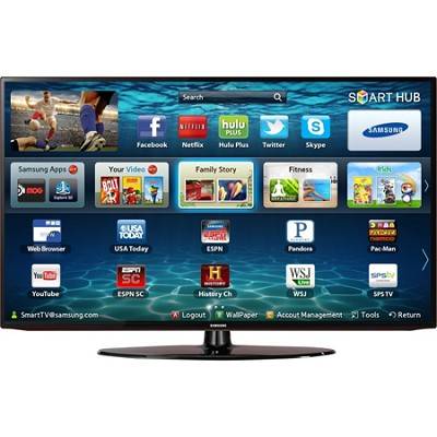UN50EH5300 - 50 inch 1080p 60Hz Smart Wifi LED HDTV Cracked Screen