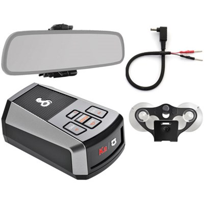 DSP 9200 BT Digital Laser & Radar Detector with Bluetooth Mirror Mount Bundle