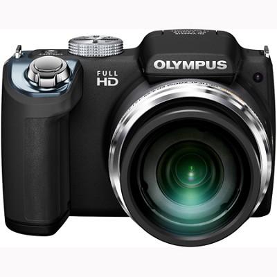 SP-720UZ 14MP 26x Opt Zoom 3-Inch LCD Digital Camera - Black