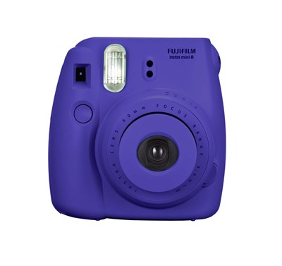 Instax 8 Color Instax Mini 8 Instant Camera - Grape