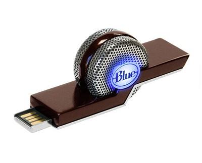 TIKI Dual-Mode Compact USB Condenser Microphone, Cardioid