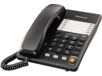 KX-TS105B 1 Line Corded Telephone System with Speakerphone & speed dial