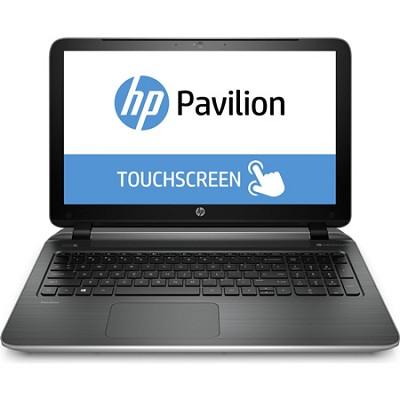 Pavilion TouchSmart 15-p010us 15.6` Notebook PC - AMD Quad-Core A8-6410 Proc.