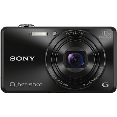 DSC-WX220 Black Compact Point and Shoot Digital Still Camera