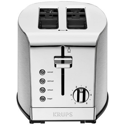 KH732D50 - Breakfast Set 2-Slice Toaster with Brushed and Chrome Stainless Steel