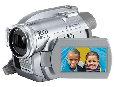 VDR-D300 - 3CCD DVD Camcorder, 10x Zoom, 3.1 MP Still, SD Card Slot, 2.5` LCD