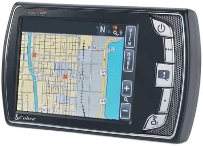 Nav One 4500 Portable navigator with real-time traffic information