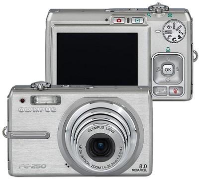 FE-250 (Silver) Digital Camera
