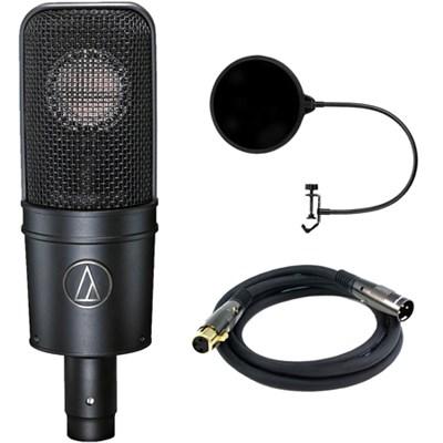 Cardioid Condenser Microphone w/ Filter Bundle