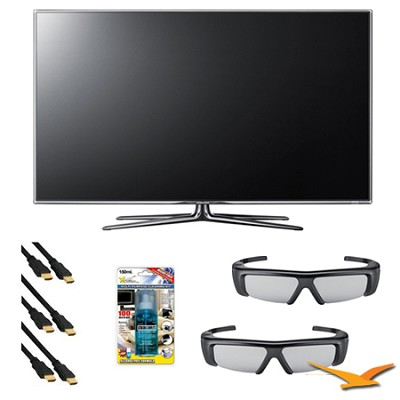 UN46D7000 46 inch 1080p 240hz 3D LED HDTV 3D Kit