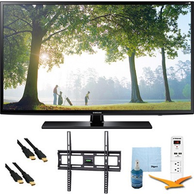 UN65H6203 - 65` 120hz Full HD 1080p Smart TV Mount & Hook-Up Bundle