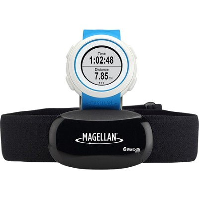 Echo Smart Running Watch with Heart Rate Monitor-Bluetooth Smart - Blue