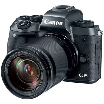 EOS M5 Mirrorless Digital Camera with EF-M 18-150mm IS STM Lens Kit - Black