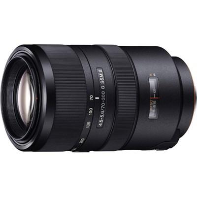 SAL70300G2 70-300 mm F4.5-5.6 G SSM II Telephoto Zoom Lens