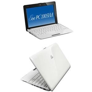 Eee PC 1005HA-MU17-WT 10.1'' Pearl White Atom N270/250G HDD/1GB DDR2/Windows 7