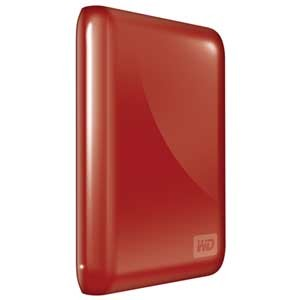 NEW! My Passport Essential 500GB USB 3.0/2.0 Portable Hard Drive Red