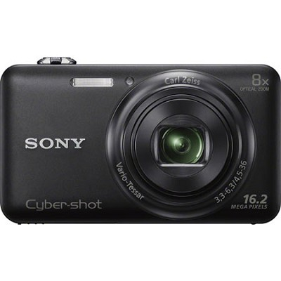 DSC-WX80 16 MP 2.7-Inch LCD Digital Camera - Black