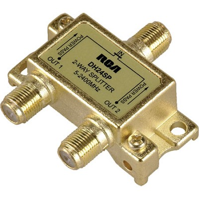 DH24SP Digital Plus 2.4GHz Bi-Directional 2 Way Splitter