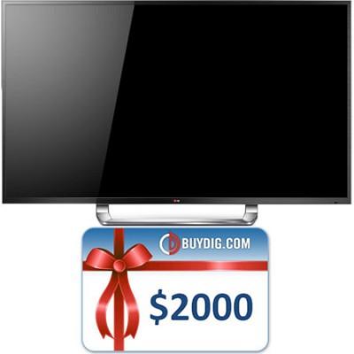 84` 4K Cinema 3D Smart LED TV Ultra HD(84LM9600) Bundle