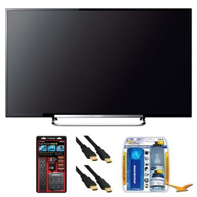 KDL-70R520A 70` LED 240Hz Internet HDTV Surge Protector Bundle