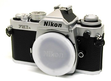 FM3A CAMERA  SILVER SLR  BODY with Nikon usa warranty