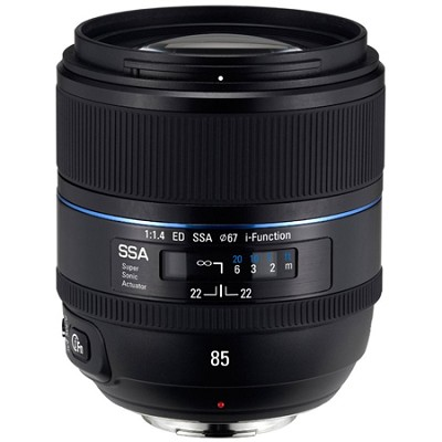 NX 85mm f/1.4 ED SSA Camera Lens