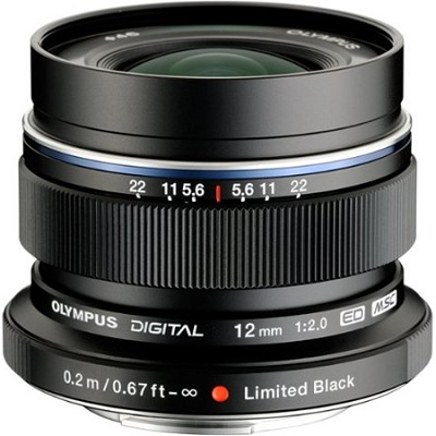M.12mm F2.0 Blk Spec Edition
