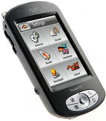P550 PDA w/ Integrated GPS Receiver, Pre-loaded Maps and Wirelesss connectivity