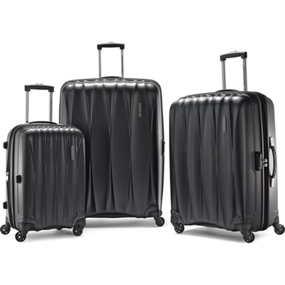 Arona Premium Hardside Spinner 3Pcs Luggage Set 20` 25` 29` (Charcoal)