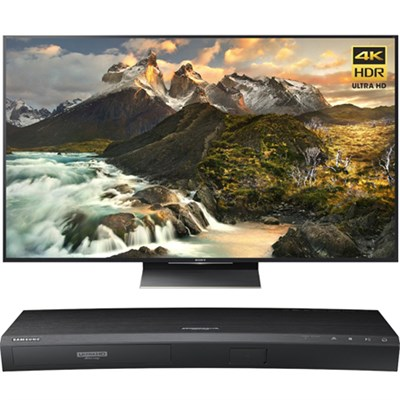 65-inch 4K Ultra HD LED TV - XBR-65Z9D w/ Samsung Disc Player