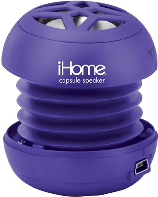 iHM7 Rechargeable Mini Speaker for iPod (Purple)