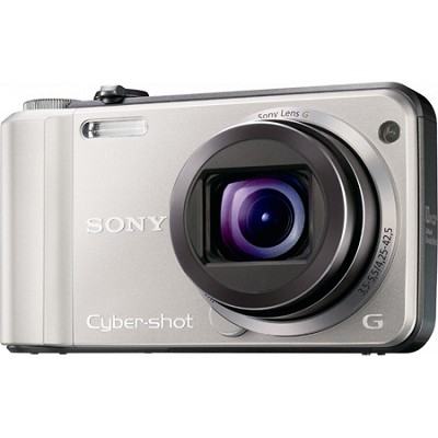 Cyber-shot DSC-H70 Silver Digital Camera OPEN BOX