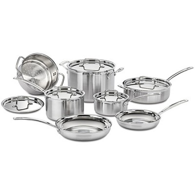 Multiclad Pro Tri-Ply 12 pc. Stainless Cookware Set (MCP-12N)