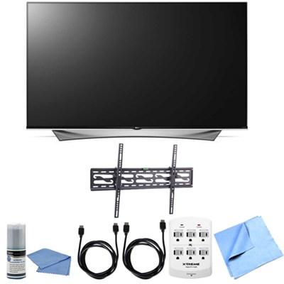 65UF9500 - 65-Inch 2160p 240Hz 3D LED 4K UHD Smart TV Tilting Mount Bundle
