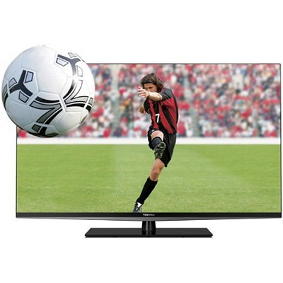 55` Ultra-thin 1080p 3D LED 120Hz Bezel-less Design Smart TV w/ Four 3D Glasses