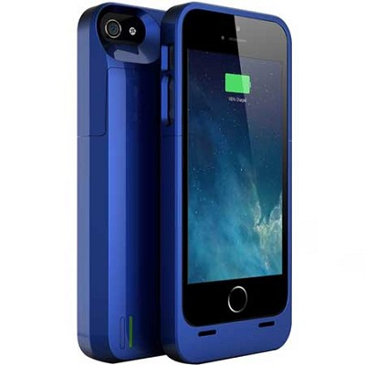 DX-05 Protective Battery Case for iPhone 5/5s - Dodger Blue