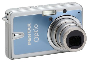 Optio S10 2.5` LCD Monitor, 10.0 MP Digital Camera (Blue)
