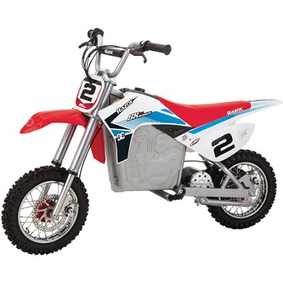SX500 Dirt Rocket Electric Motocross Bike 14 and older (175-pound weight limit)