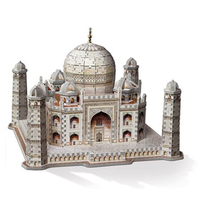 3D Taj Mahal Puzzle, 950-Piece For ages 12 and Up