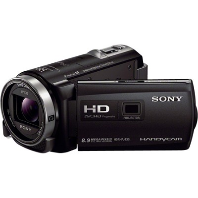 HDR-PJ430V 32GB Full HD Camcorder 8.9MP stills with Projector - OPEN BOX