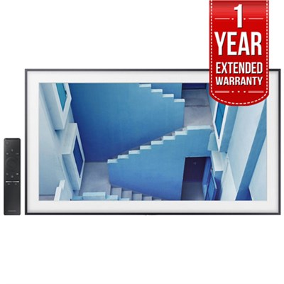 Flat 65` LED 4K UHD The Frame SmartTV 2017 Model + 1 Year Extended Warranty