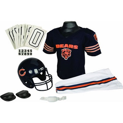 NFL Deluxe Team Small Uniform Set - Chicago Bears
