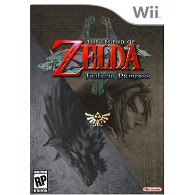 Wii Legend of Zelda:Twilight Princess