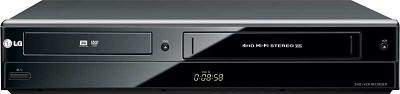 RC897T - Combination DVD/VCR Player & Recorder w/ 1080p Upconversion **OPEN BOX*
