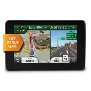 nuvi 3550LM 5 inch High Res GPS Navigation System with Lifetime Maps