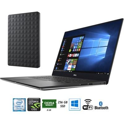 15.6` 4k Touch Intel i5-7300HQ 8/256GB Laptop + 1.5TB Portable Hard Drive