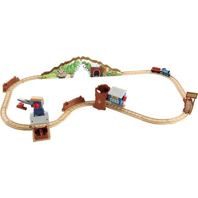 Thomas & Friends Wooden Railway Tidmouth Timber Company Deluxe Figure 8 Set