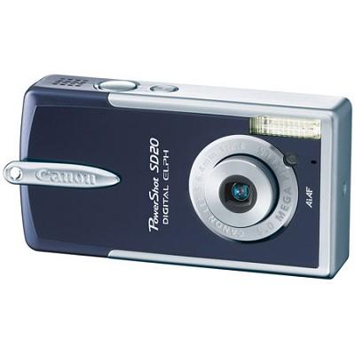 Powershot SD20 Digital ELPH Camera (Midnight Blue)
