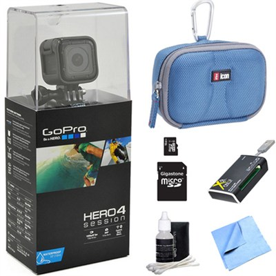 HERO4 Session Action Camera All Inclusive Bundle